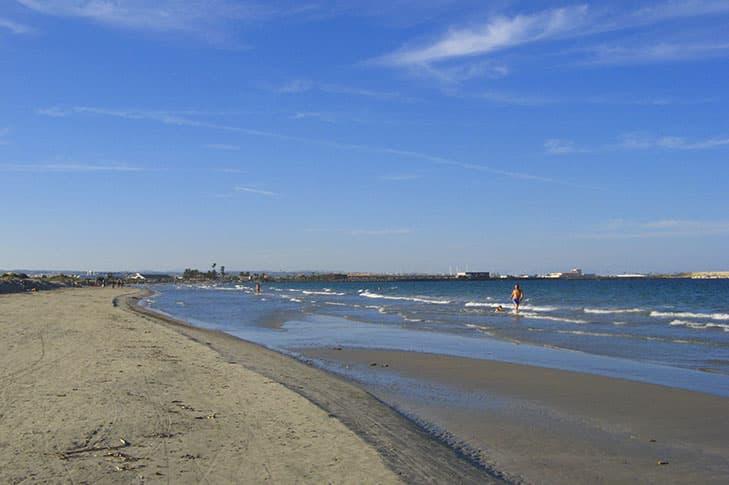 Playa la llana San Pedro del Pinar