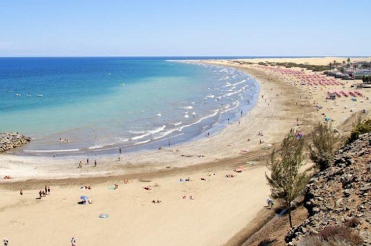 Playa Maspalomas San bartolomé Tarajana