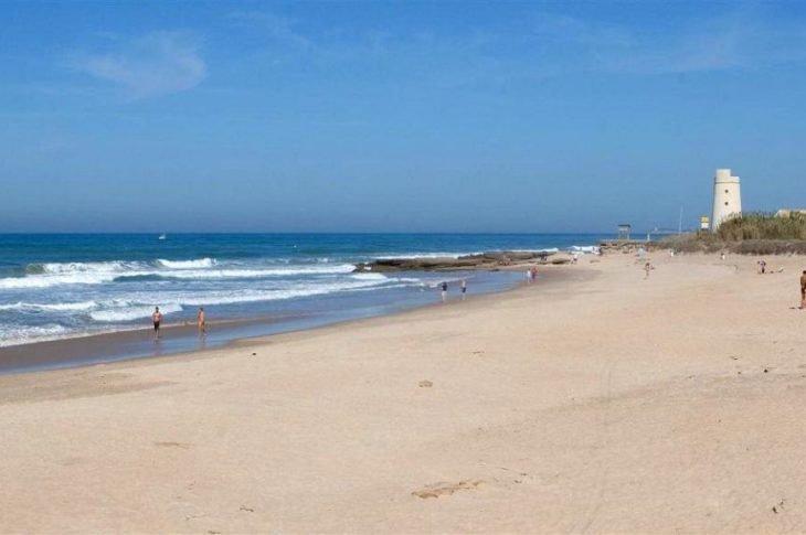 Playa El Palmar en Vejer de la Frontera