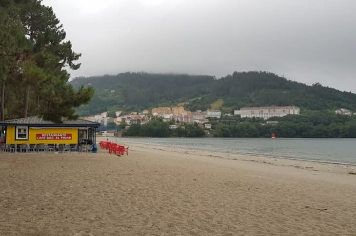 Playa Magdalena en A coruña