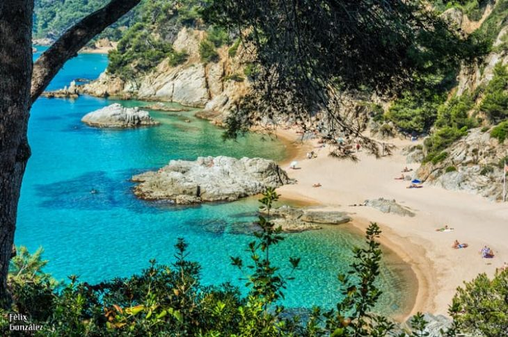 Playa de Sa Boadella LLoret de Mar