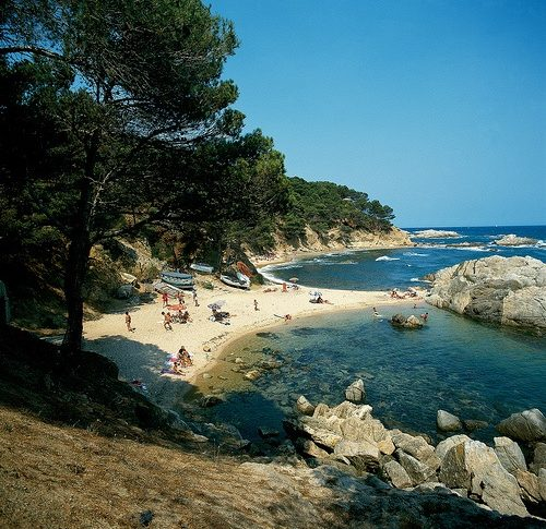 Playa Cala Estreta