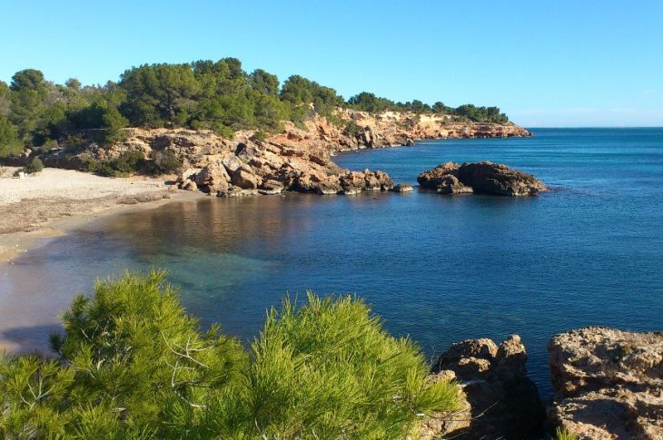 Playa Cala de l'Estany Podrit