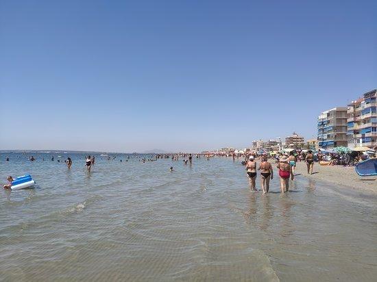 playa gran playa santa pola