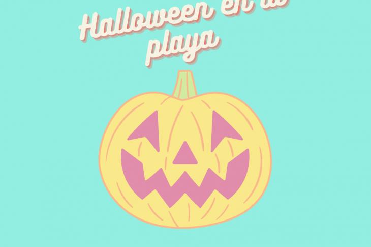 Celebrar-Halloween-playa-niños