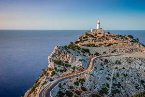 Los faros de la isla de Mallorca