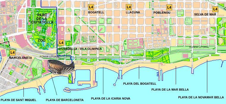 Estan abiertas las playas de barcelona hoy